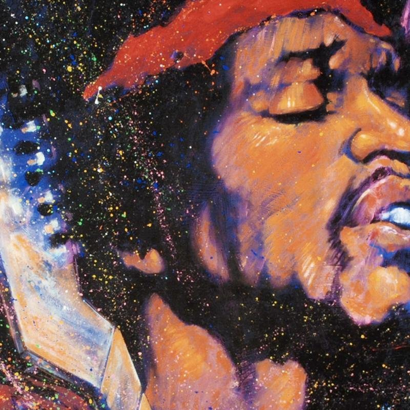 """""""Purple Haze"""" LIMITED EDITION Giclee on Canvas by - 2"""