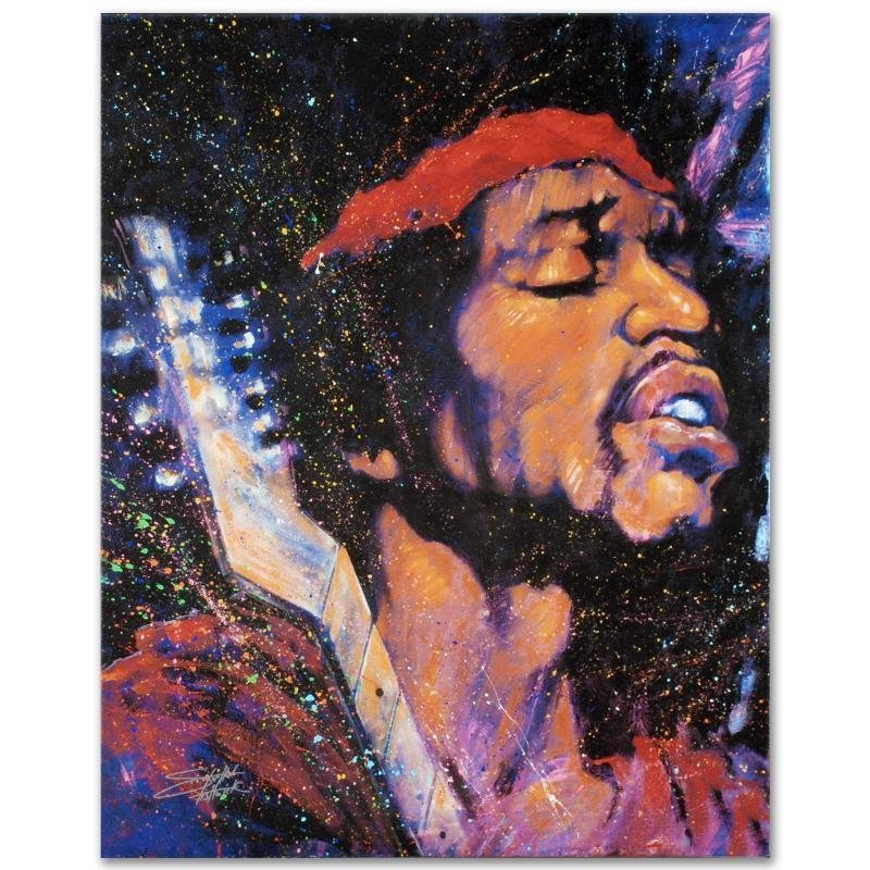 """""""Purple Haze"""" LIMITED EDITION Giclee on Canvas by - 3"""