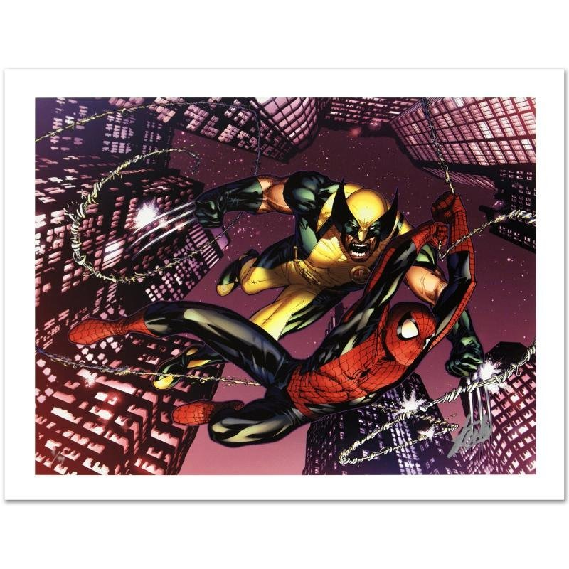 """Astonishing Spider-Man & Wolverine #1"" Limited Edition"