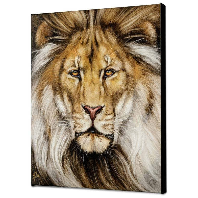 """Kinglike"" Limited Edition Giclee on Canvas by Martin"