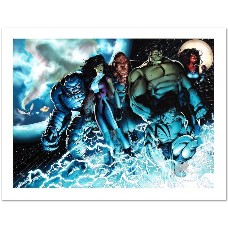"""Incredible Hulks #615"" Limited Edition Giclee on"