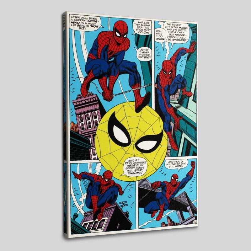 """""""Amazing Spider-Man #90"""" LIMITED EDITION Giclee on"""