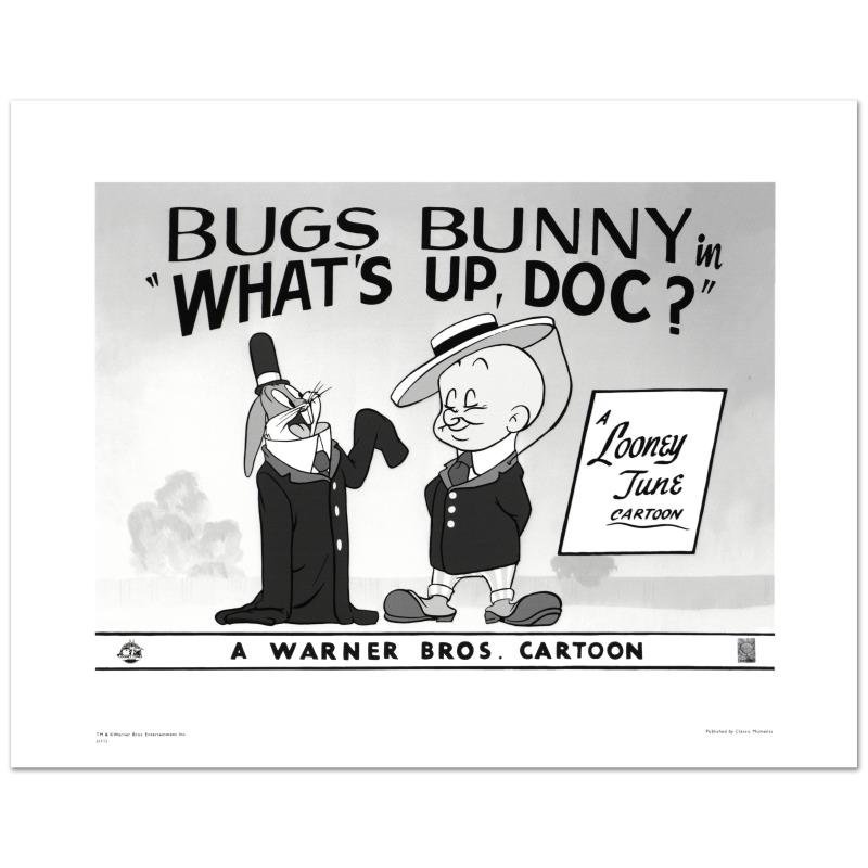 """""""What's Up Doc #2"""" Limited Edition Giclee from Warner"""