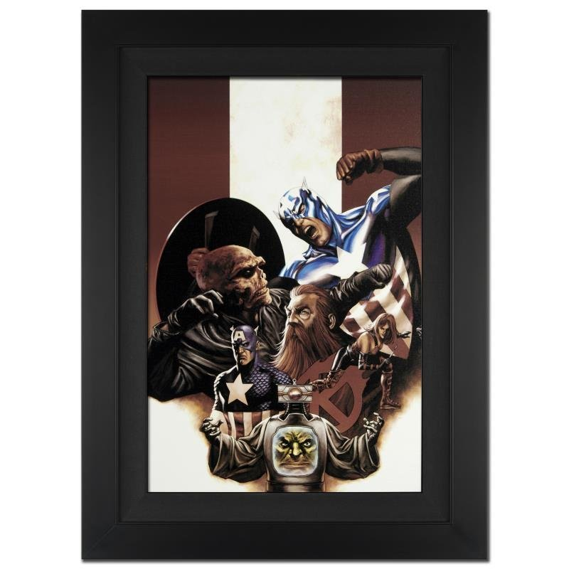 """""""Captain America #42"""" Extremely Limited Edition Giclee"""