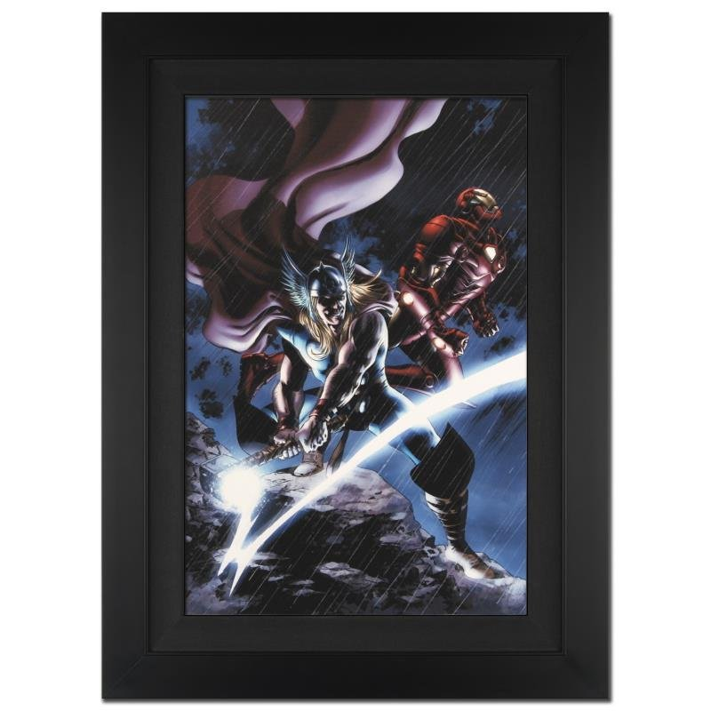 """Thor #80"" Extremely Limited Edition Giclee on Canvas"