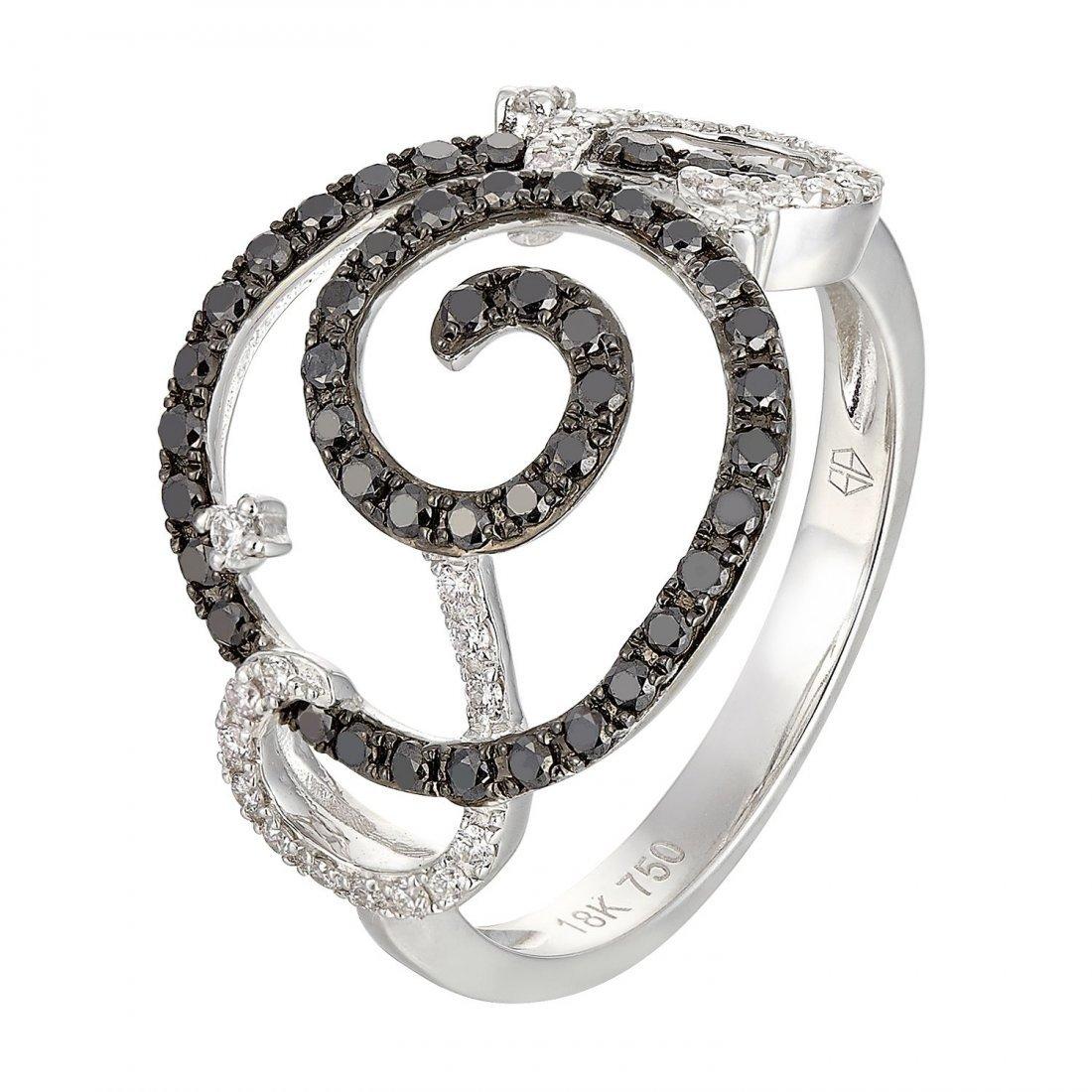 18k  Gold Women's Diamond Ring