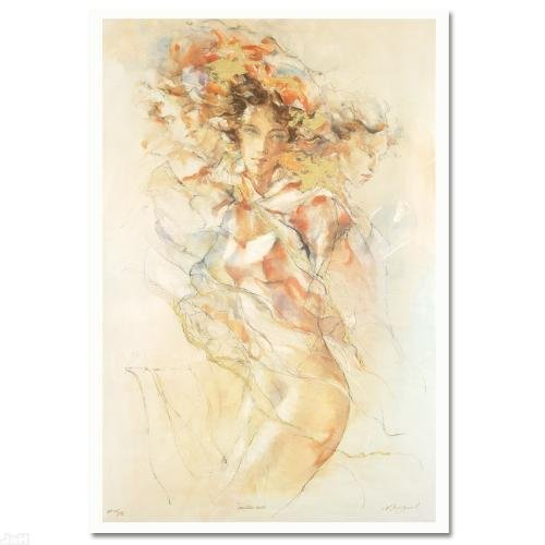 """""""Tenderness"""" LIMITED EDITION Serigraph (27"""" x 39"""") by"""