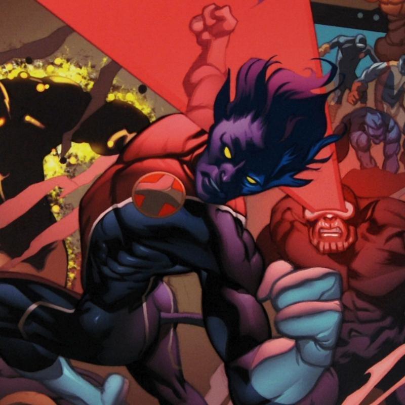 """Secret Invasion: X-Men #1"" Ltd Ed Giclee on Canvas by - 2"