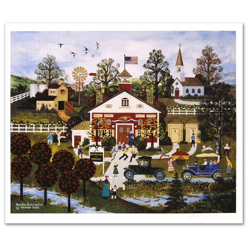 Vacation Anticipation Limited Edition Lithograph by