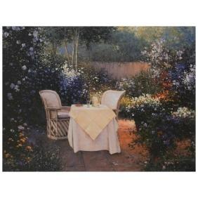 "Sergon - ""Garden Pleasures"" Limited Edition Giclee on"