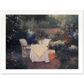 "Sergon - ""Garden Pleasures"" Limited Edition Giclee,"