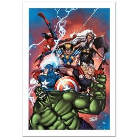 """""""Marvel Adventures: The Avengers #36"""" Limited Edition"""