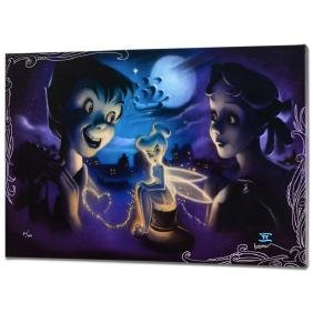 """""""Tink vs. Wendy"""" Disney Limited Edition Giclee on"""