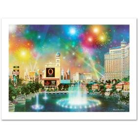 """""""Las Vegas Evening"""" Limited Edition Lithograph by"""
