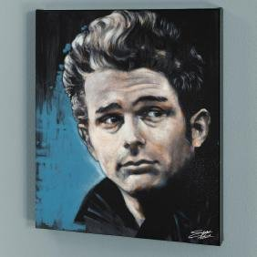 """""""James"""" Limited Edition Giclee on Canvas by Stephen"""