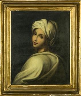 SCUOLA ITALIANA DEL XIX SECOLO   PORTRAIT OF BEATRICE