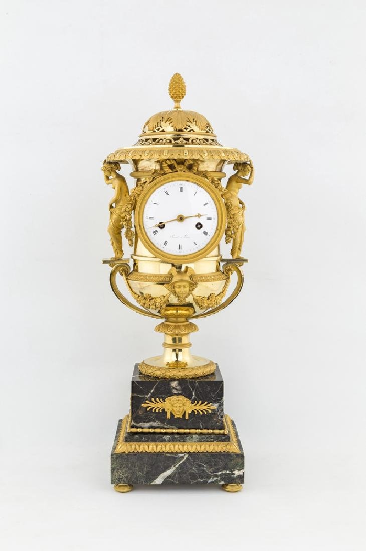 PIERRE-PHILIPPE THOMIRE, ATTRIBUITO A Clock in the form