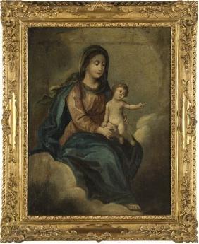 SCUOLA ITALIANA DEL XVIII SECOLO MADONNA WITH CHILD  
