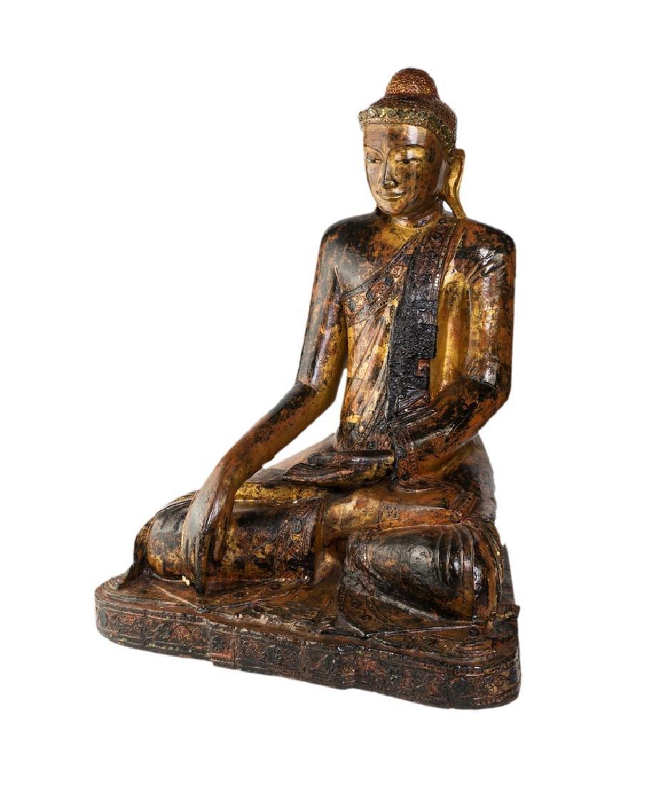 BUDDHA SCULPTURE |  BUDDHA IN LEGNO