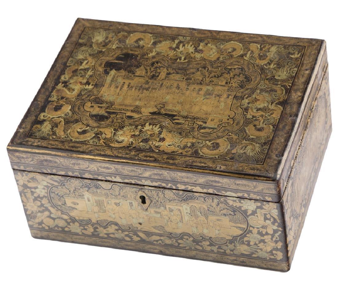 WOODEN BOX   SCATOLA IN LEGNO - 2