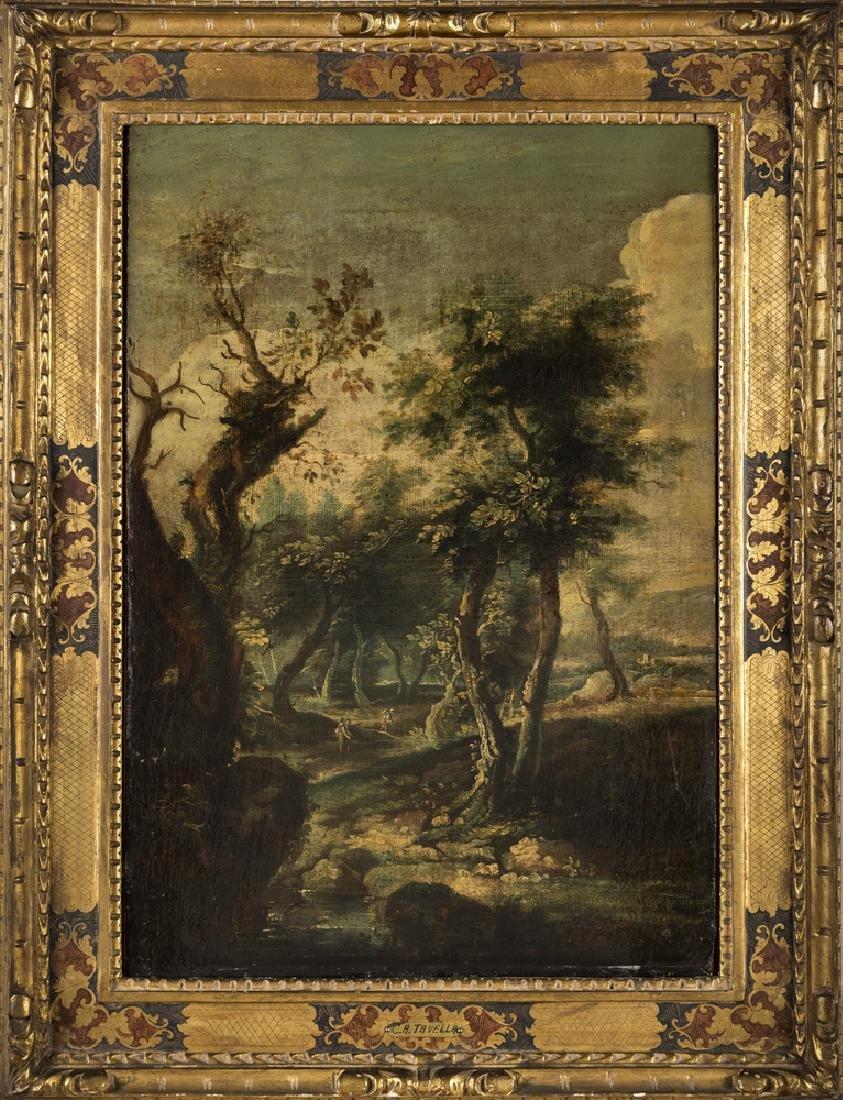 Antonio Tavella (Milano 1668-Genova 1738) LANDSCAPE |