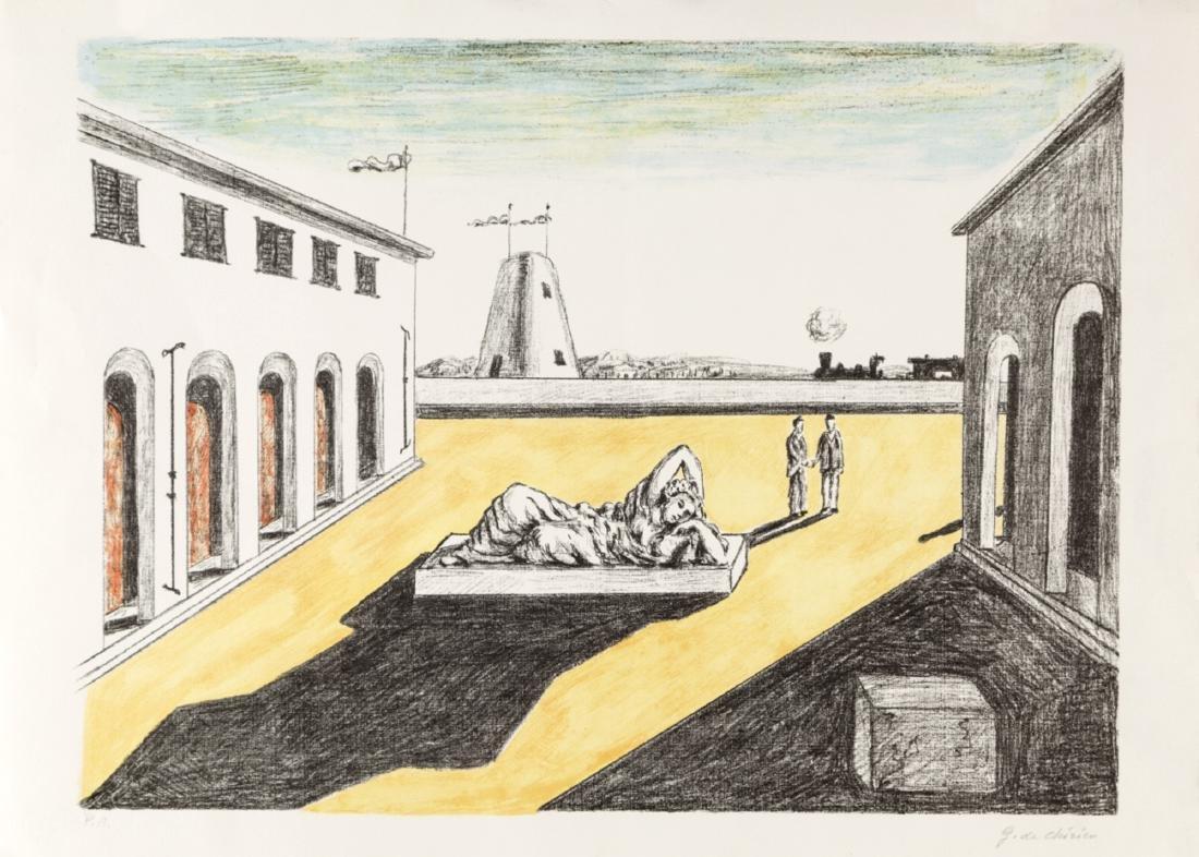 GIORGIO DE CHIRICO (VOLO 1888-ROME 1978) PIAZZA