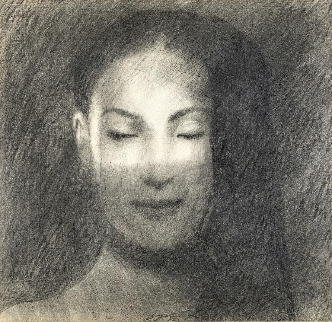OMAR GALLIANI (MONTECCHIO 1954) FIGURA DI DONNA | WOMAN