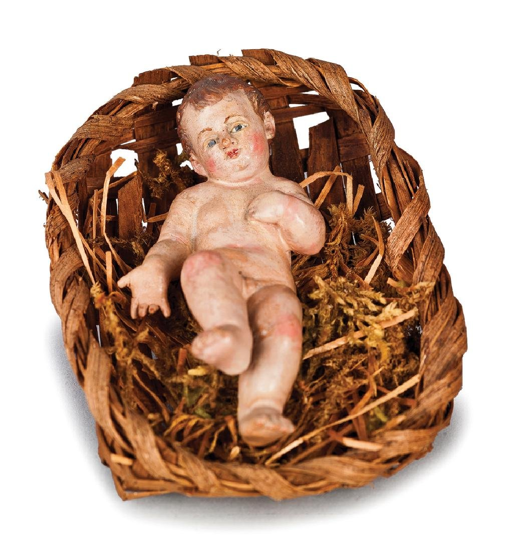 BAMBINELLO IN TERRACOTTA POLICROMA | THE CHILD IN