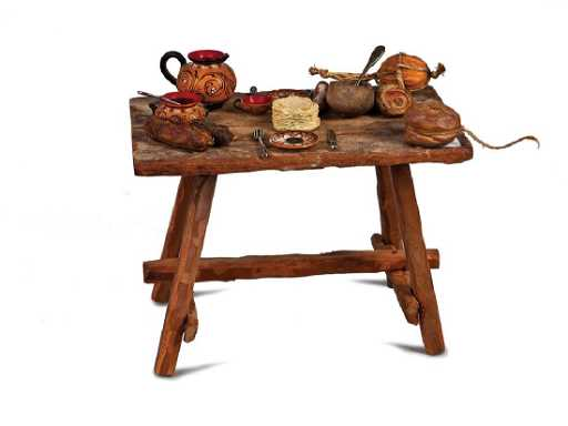 TAVOLO DA TAVERNA IN LEGNO | INNYARD WOODEN TABLE