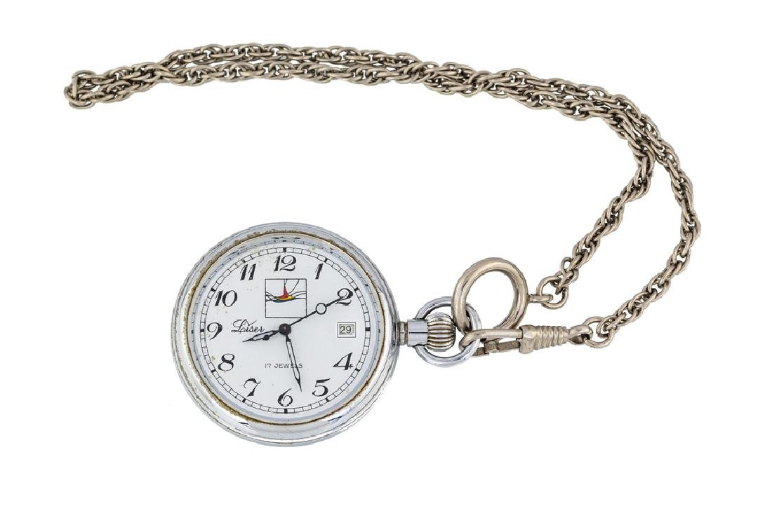 OROLOGIO DA TASCA LISER| LISER POCKET WATCH