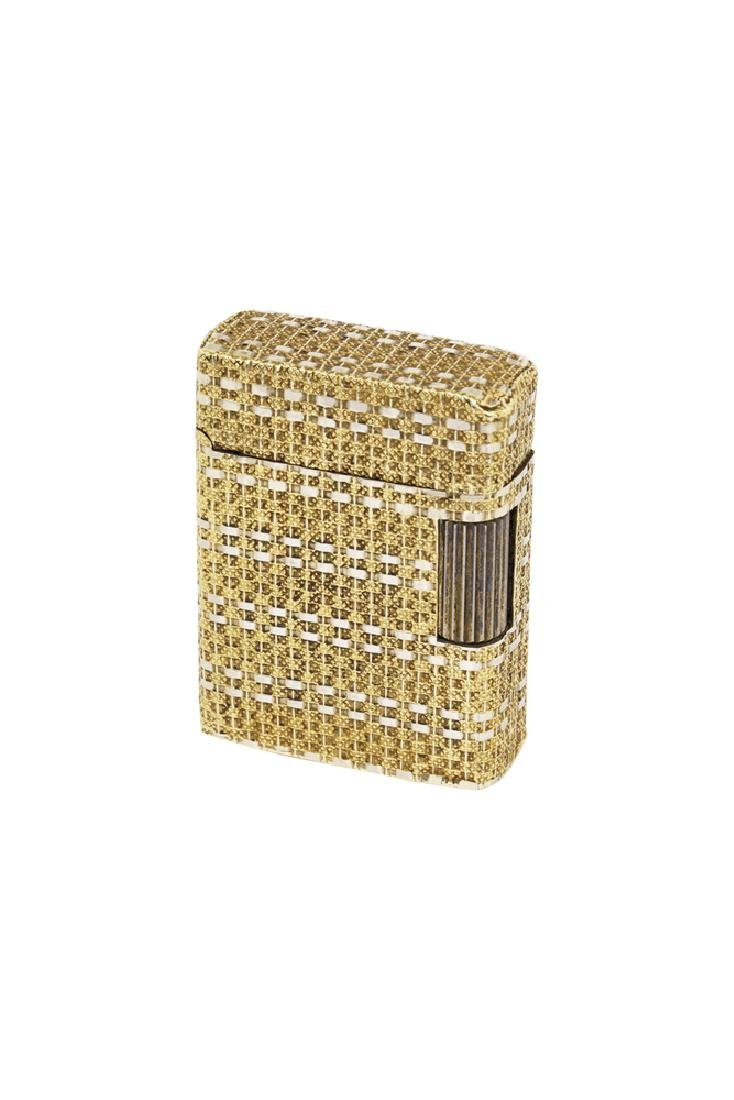 ACCENDINO A ORO DUPONT| GOLDEN LIGHTER DUPONT