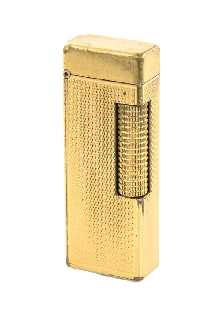 ACCENDINO DUNHILL ROLLAGAS PLACCATO ORO| LIGHTER