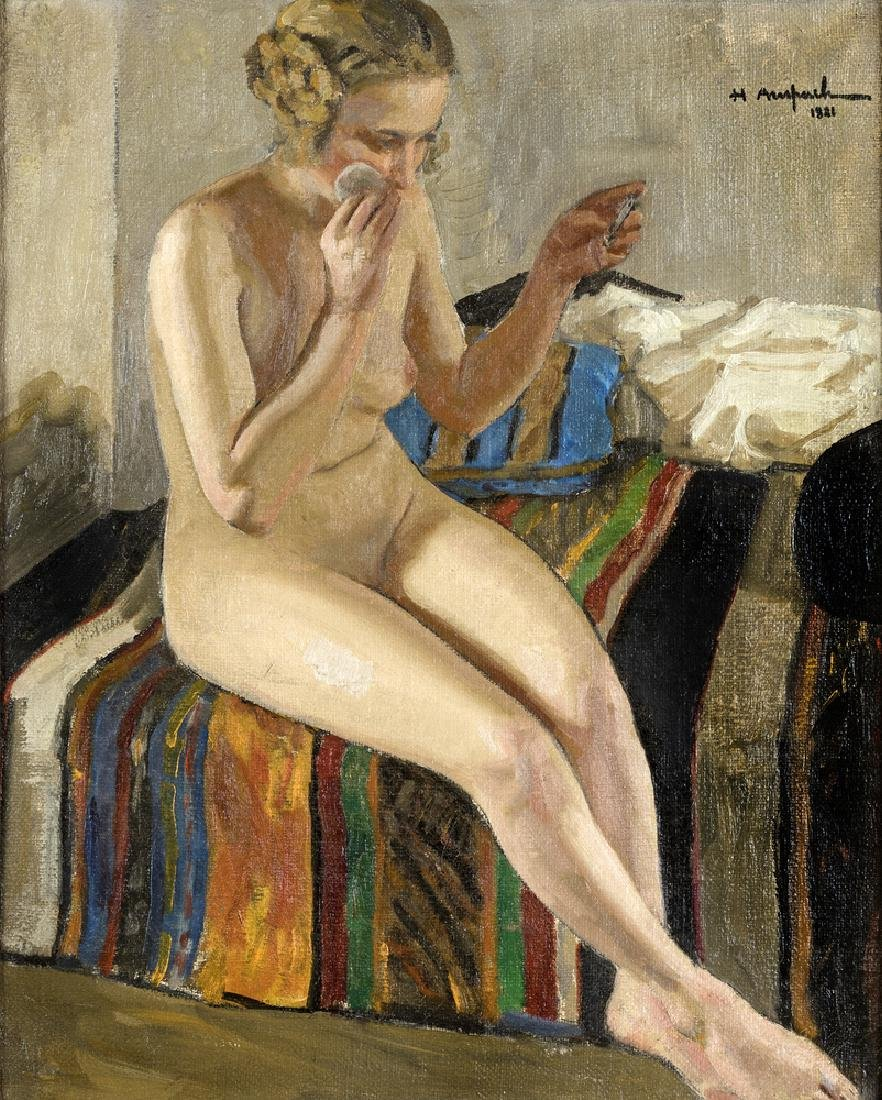 PAINTER OF THE BEGINNING OF THE  20TH CENTURY NUDO DI