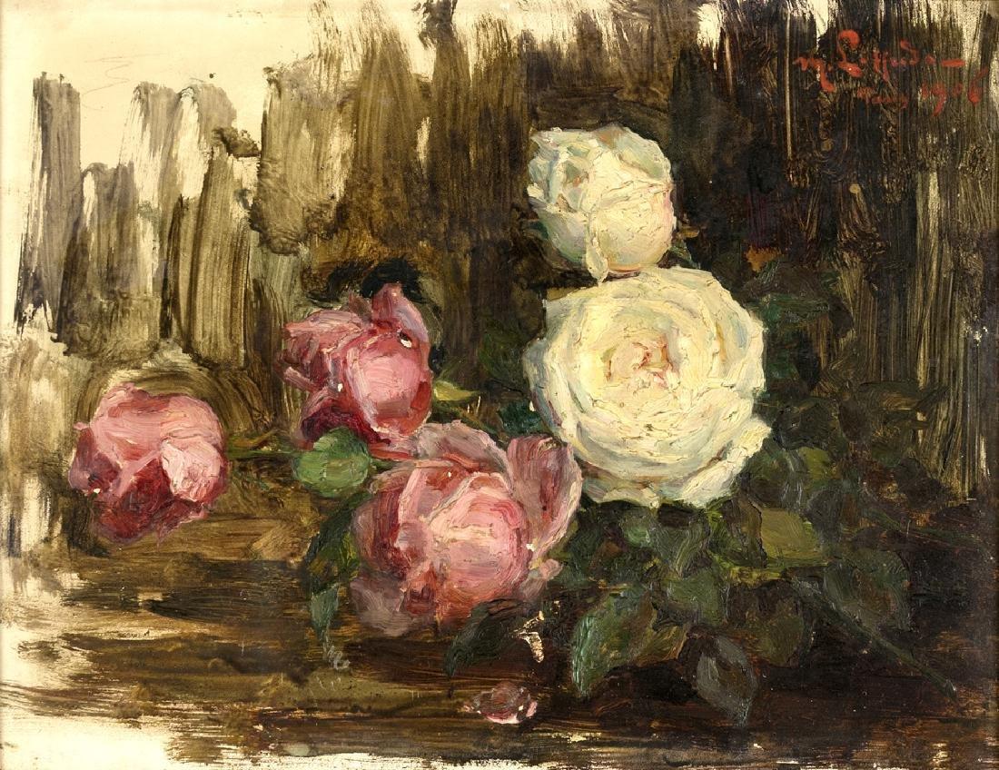 PAINTER OF 19 /20th CENTURY FIORI FLOWERS