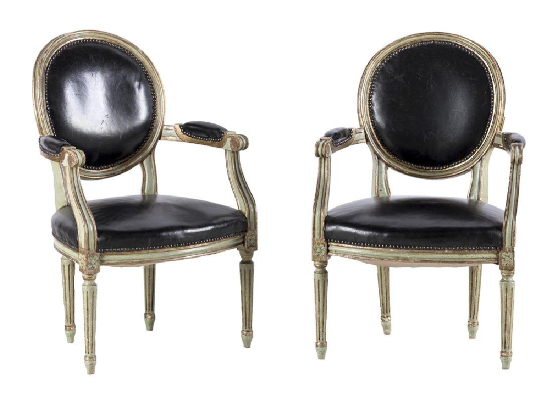 COPPIA DI POLTRONE PAIR OF ARMCHAIRS