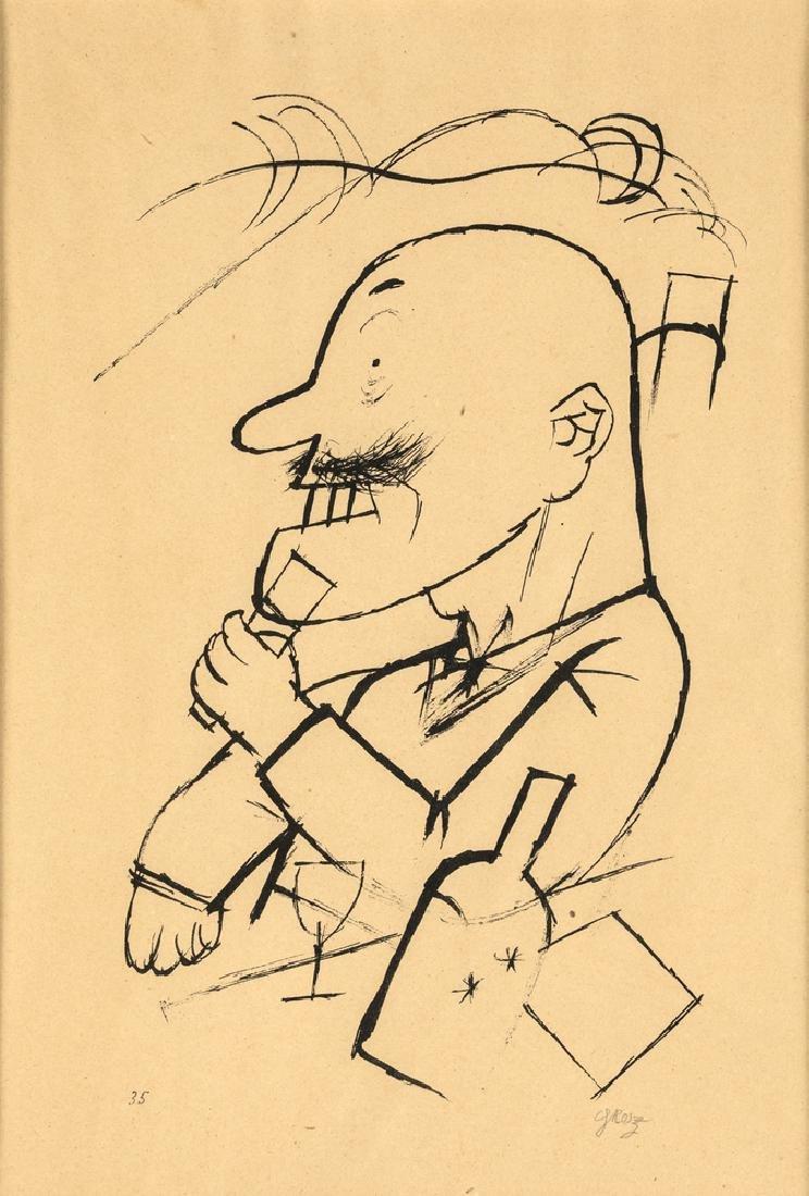 GEORGE GROSZ (Berlino 1893-Berlino 1959) |IL DITTATORE