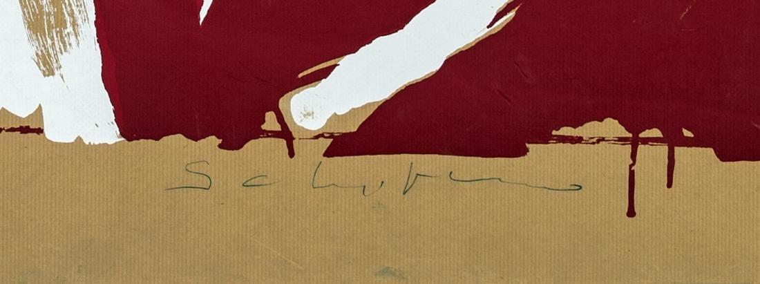 MARIO SCHIFANO (Homs 1934-Roma 1998)   COCA-COLA - 2