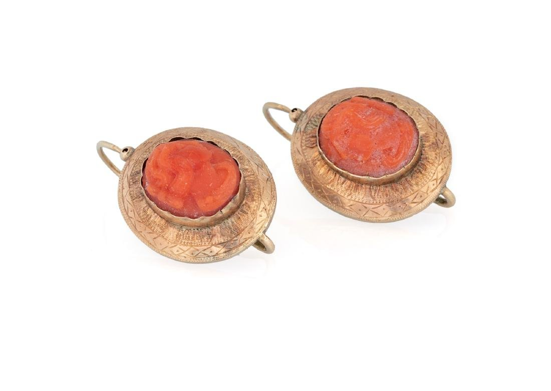 ANCIENT CORAL EARRINGS