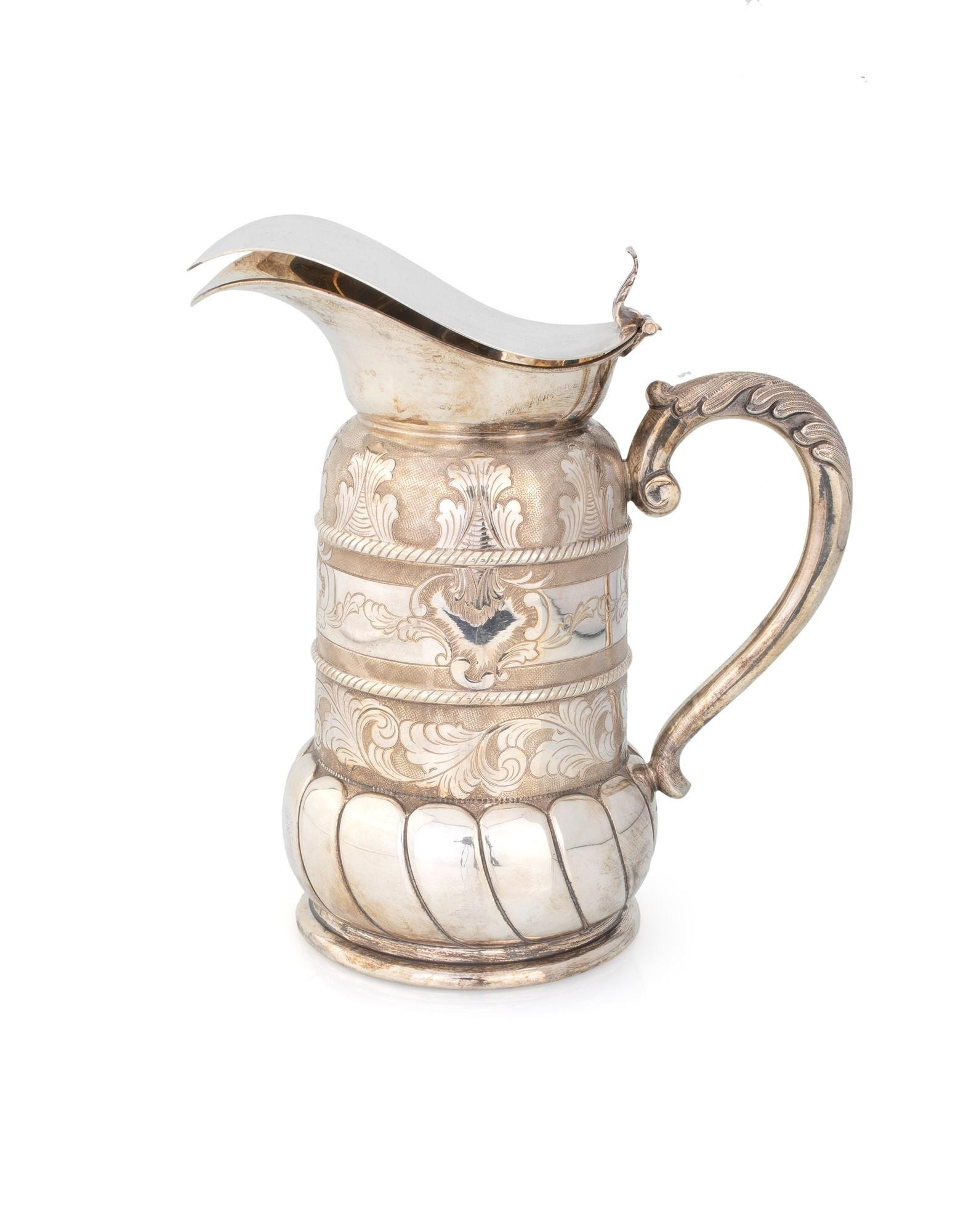 Silver thermal jug