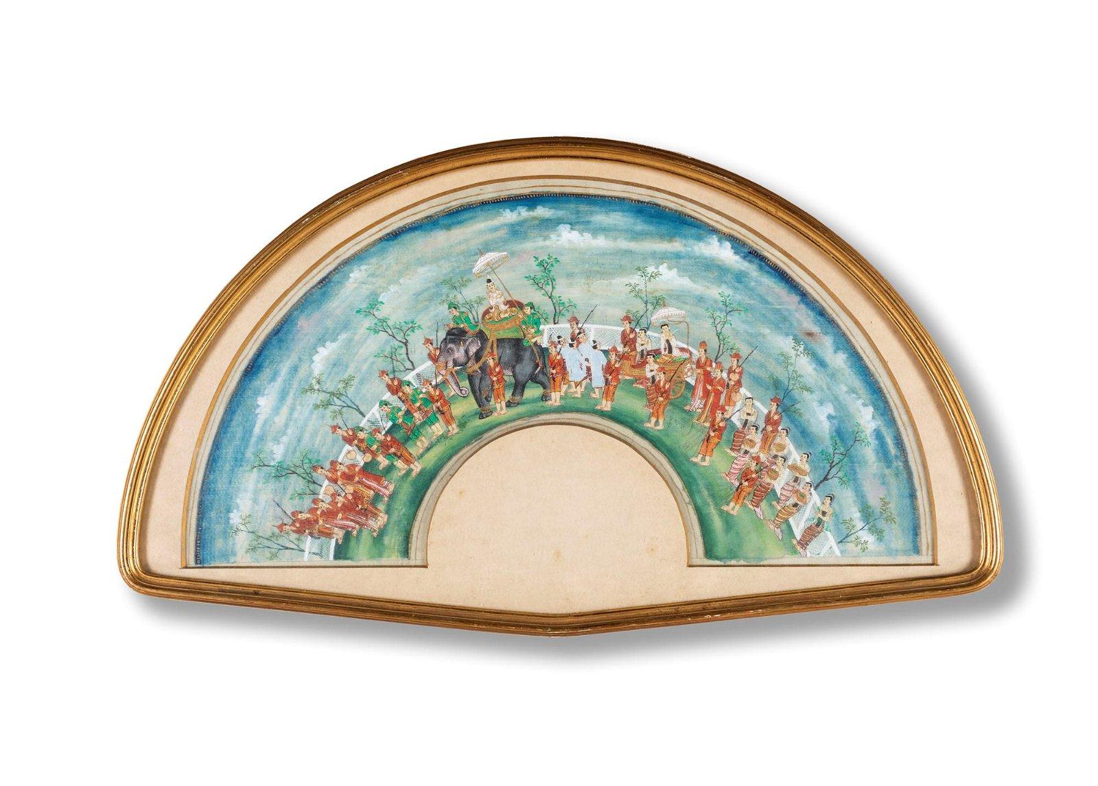 Pittore del XX secolo   Indian procession