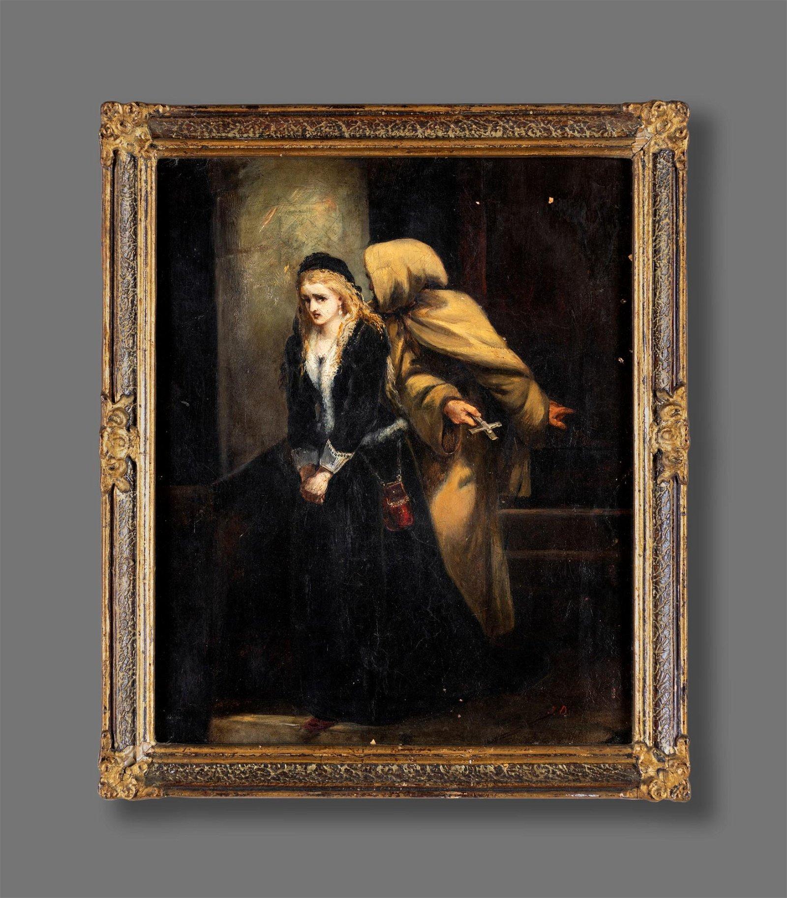 Pittore del  XIX secolo   Repentance