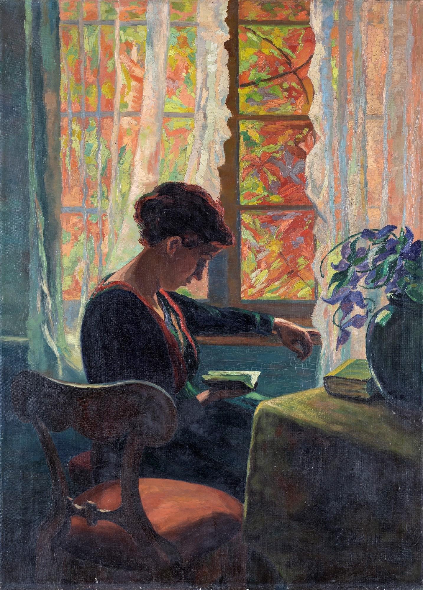 Pittore degli inizi del XX secolo   Interior with