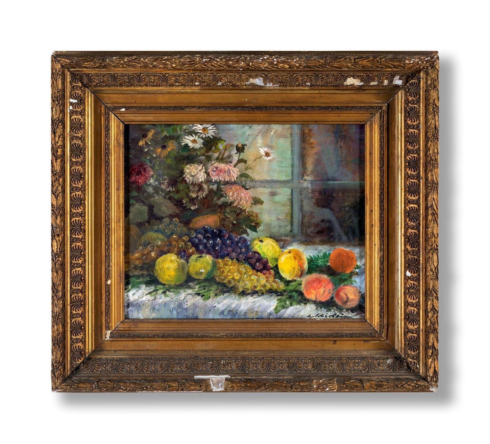 Pittore della fine del XIX secolo   Composition with