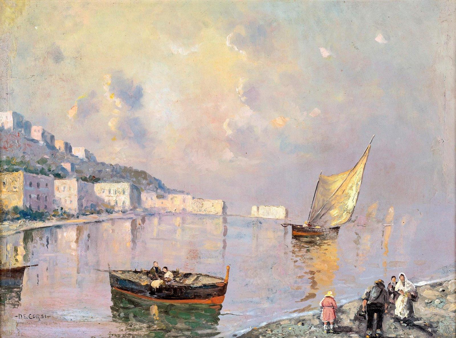 Nicolas De Corsi (Odessa 1882-Torre Del Greco 1956)