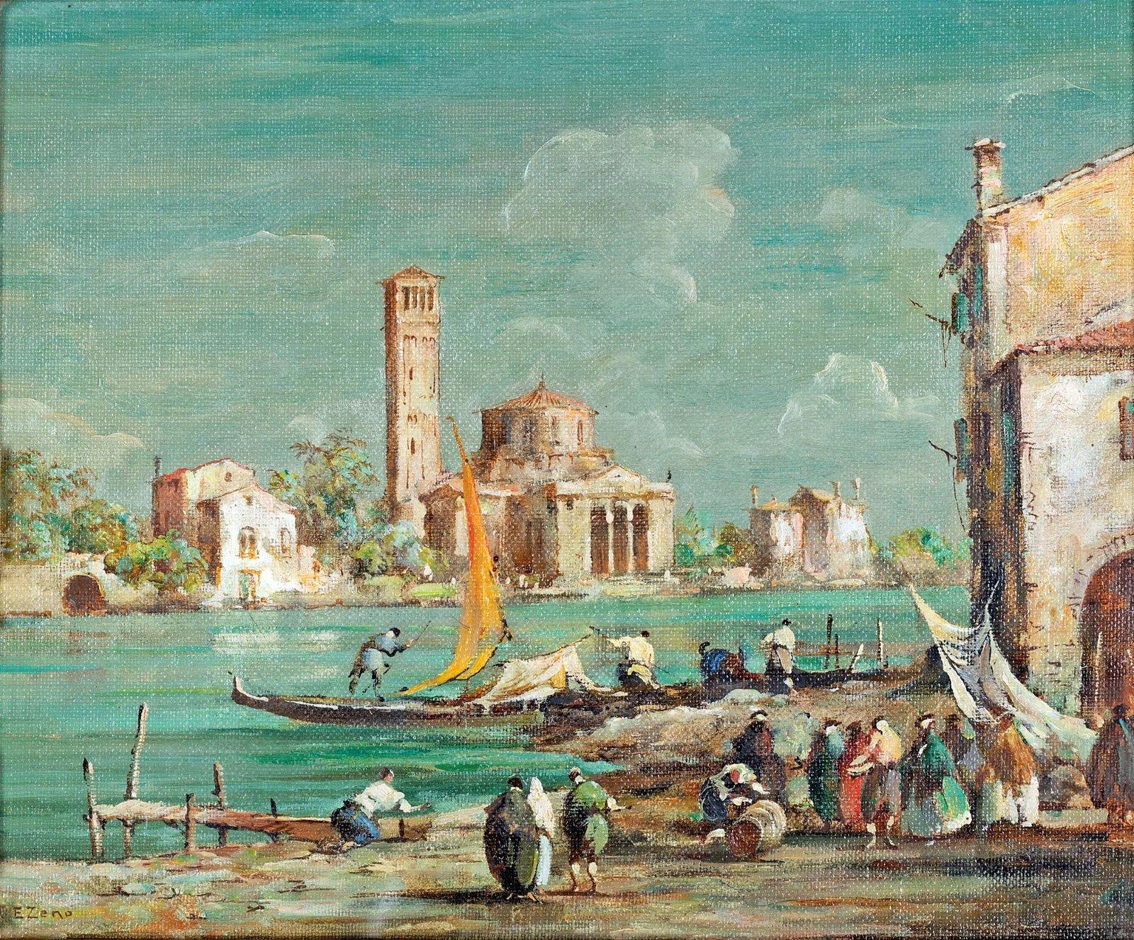 Zeno Eugenio Bonivento (Chioggia 1880-Milano 1956)