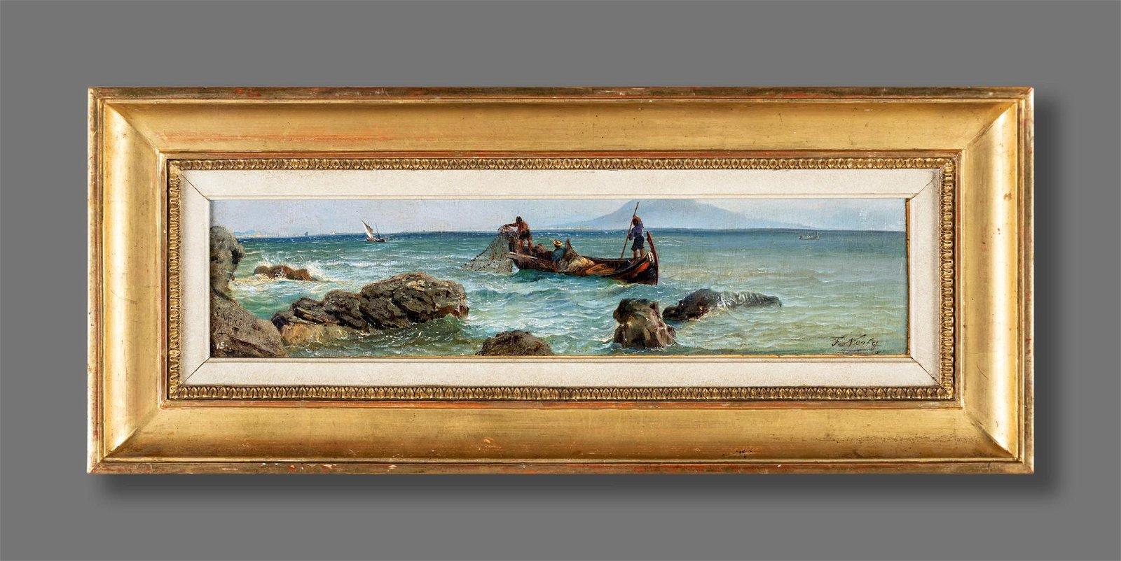 Friedrich Paul Nerly (Venezia 1842-Lucerna 1919)