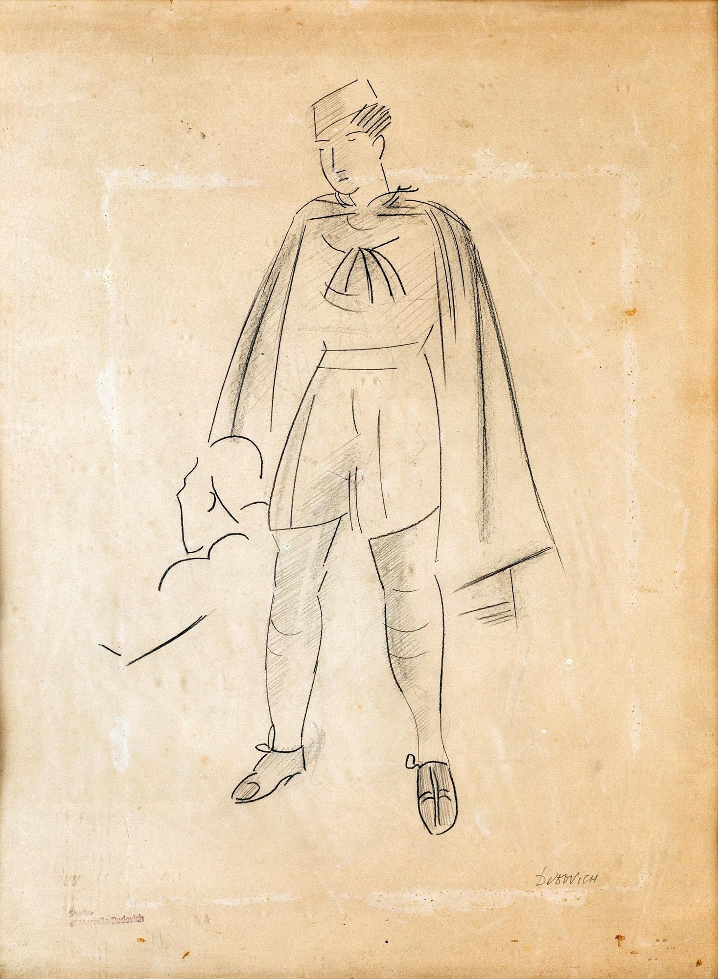 Marcello Dudovich (Trieste 1878-Milano 1962)  Figure