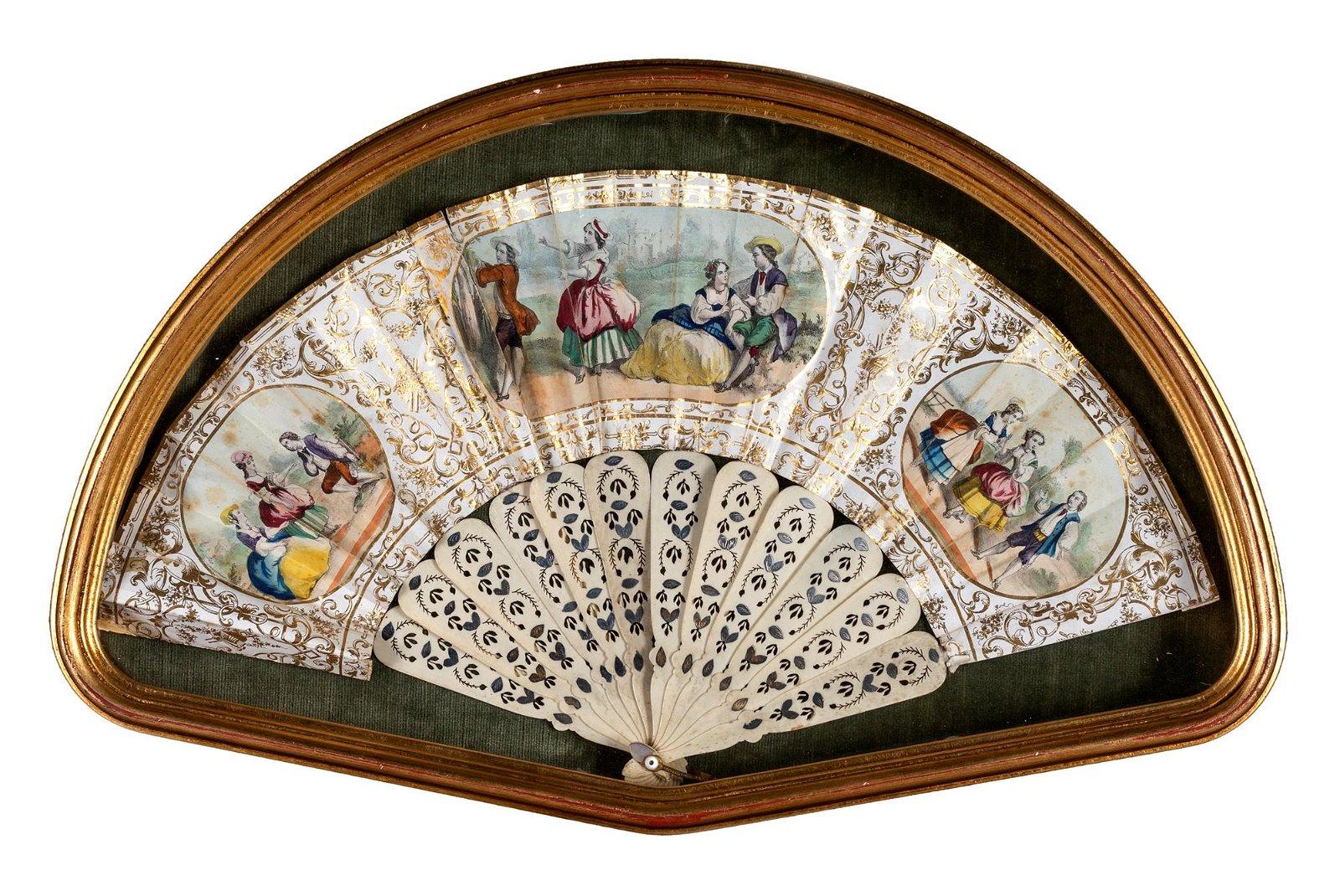 Pittore del XVIII secolo Folding fan