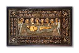 Ancient altar frontal