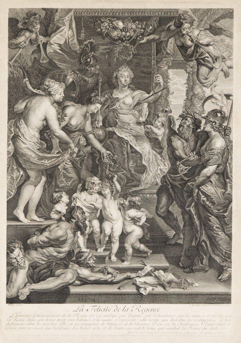 La Felicitè de la Regence etching